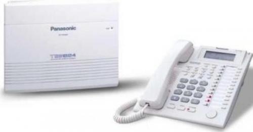 Centrala telefonica Panasonic KX-TES824CE, White