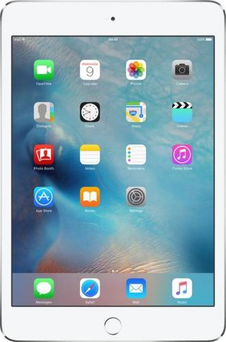 "Tableta Apple iPad Mini 4, 7.9"", Apple A8 1.5 GHz, 2GB, 128GB, PowerVR GX6450, Wi-Fi + Cellular LTE 4G, iOS 9, Silver"