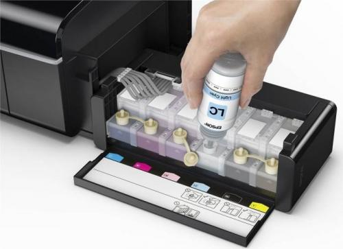 Imprimanta inkjet color CISS Epson L805, A4, 37ppm, rezolutie: 5760x1440dpi, print CD/DVD, wireless, USB2.0
