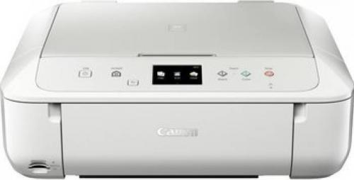 Multifunctional inkjet color Canon Pixma MG6851, White