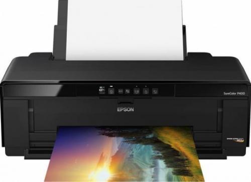 Imprimanta inkjet color Epson Surecolor P400, Black