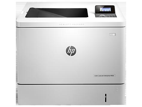 Imprimanta laser color HP Color LaserJet Enterprise M553n, White