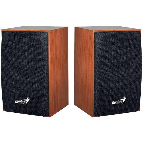 Boxe Genius SP-HF160, Cherry Wood, RMS: 2x2W, USB