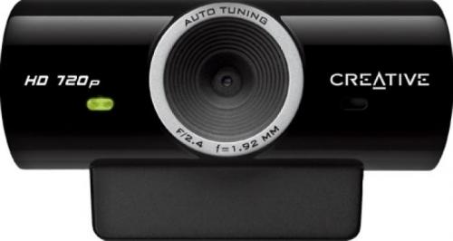 Camera Web Creative Live Cam Sync HD, Black
