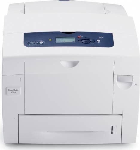 Imprimanta laser color Xerox ColorQube 8580DN, Alb