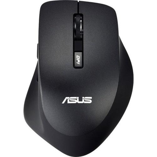 Mouse wireless ASUS WT425,1600dpi, 6 butoane, receiver USB, Negru