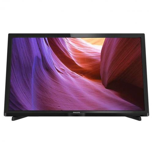 "Televizor LED PHILIPS 24PHH4000, 24"" (61cm), HD Ready, HDMI, USB, Negru"