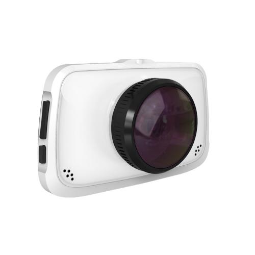 "Camera auto DVR Novatek T808, 12MP, inregistrare FullHD @30fps, 170gr A+ ultra-wide angle 6G lens, display TFT 3.5"", negru"
