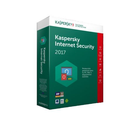 Licenta renew antivirus Kaspersky Internet Security 2017, 1 PC, 1 an + 3 luni gratuit, Retail, Renew