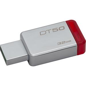Memorie USB Kingston DataTraveler 50, 32GB, USB 3.1, Red