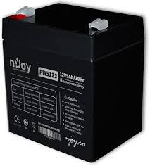 Acumulator NJOY ACPW-05123PW-CB01B, Black