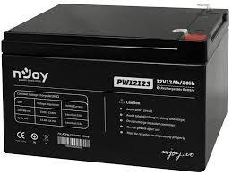 Acumulator UPS NJoy ACPW-12123PW-CB01B, Balck