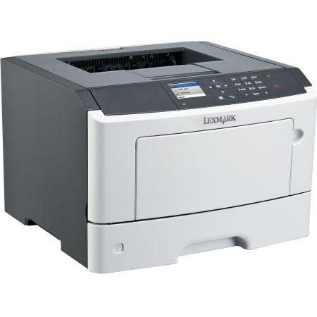 Imprimanta laser monocrom Lexmark MS417DN, A4, 38 ppm, 1200x1200dpi, Duplex, Paralel / USB / LAN