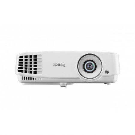 Videoproiector BENQ MS517H, DLP, SVGA (800x600), 3300 lumeni, 13000:1, 3D ready, VGA/HDMI, boxe, telecomanda, alb