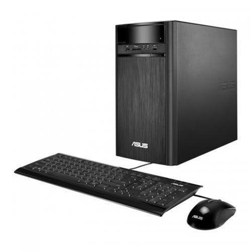 Desktop PC ASUS K31CD-K-RO012D, Intel Core i3-7100 3.9GHz, RAM 4GB DDR4, HDD 1TB 7200rpm, video integrat Intel HD, DRW, Mouse + Tastatura USB, DOS