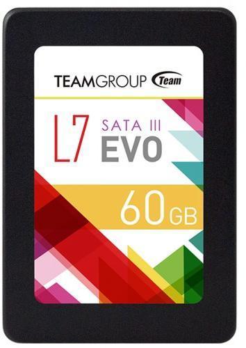 """SSD TeamGroup L7 EVO T253L7060GTC101, 60GB, SATA 3, 2.5"""""""