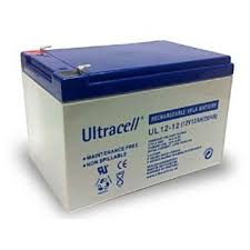 Baterie UPS Ultracell UL12V12AH, White