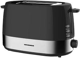 Prajitor de paine Heinner HTP-850BK, 850W,  Negru