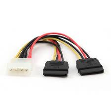 Cablu Alimentare 1*5.25 Gembird CC-SATA-PSY-0.3M