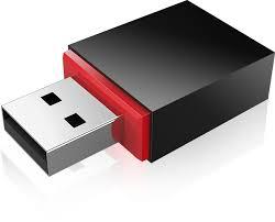 Placa retea USB Tenda U3, Black
