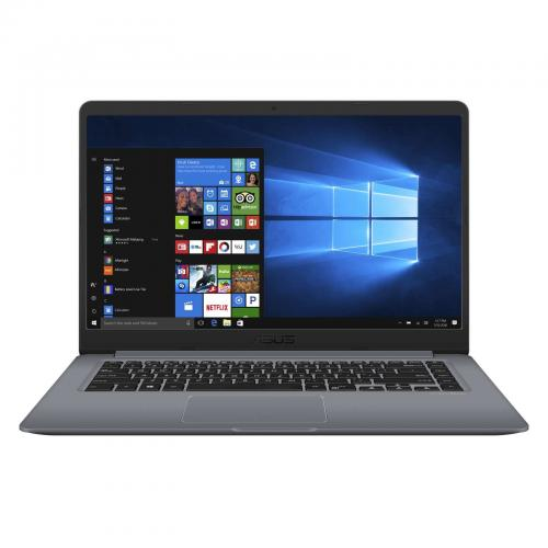 "Notebook ASUS S510UA-BQ452R, 15.6"" FullHD, Intel Core i5-8250U 1,6GHz 4C/8T, RAM 8GB DDR4, SSD 256GB, tastatura iluminata, FPR, Gray, Windows 10 Pro"
