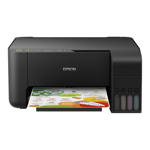 Multifunctional inkjet color Epson EcoTank CISS L3150, A4, viteza 10ppm a/n, 5ppm color, USB 2.0, WI-FI direct