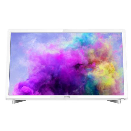 Televizor LED Philips 24PFS5603/12, 60 cm, Full HD, Alb