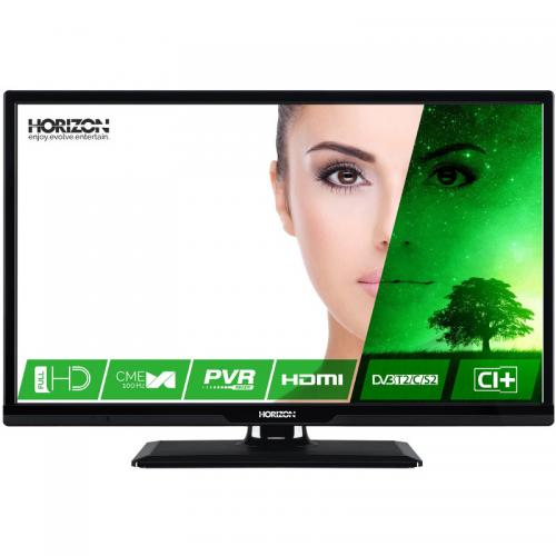 Televizor LED Horizon 24HL7320F, 60cm, Full HD, Negru