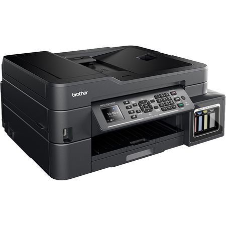 Multifunctional inkjet CISS Brother MFC-T910DW, print/scan/copy/fax, A4, 12ppm mono, 10ppm color, duplex print, ADF 20 coli, USB 2.0, Ehernet, Wireless