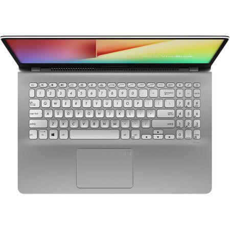 """Notebook  ASUS S530UF-BQ028, 15.6"""" FullHD, Intel Core I5-8250U pana la 3.4GHz, RAM 8GB, SSD 256GB, video dedicat GF MX130 2GB GDDR5, Metal Gun"""