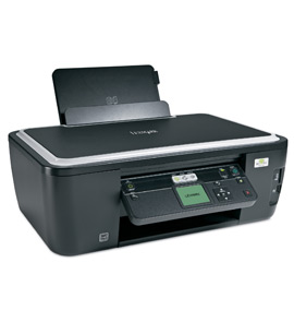 Multifunctional Lexmark S505 A4, 33ppm negru, 30ppm color, 4800x1200dpi, Scaner CIS, 48 biti, DUPLEX, WIRELESS, Pictbridge, cititor de carduri, conectare USB