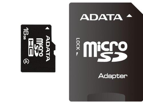 Card memorie A-Data Micro-SDHC 16GB, Class 4