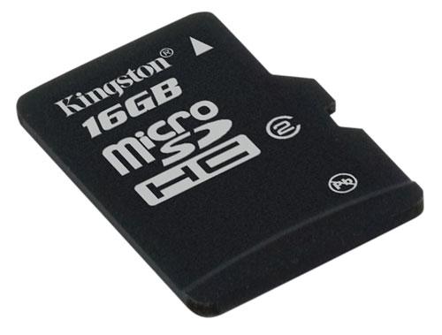 Card memorie Kingston Micro-SDHC 16GB, Class 4
