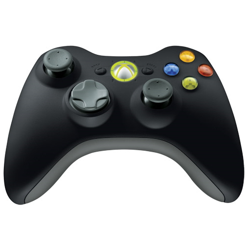 Controller Microsoft XBOX 360 Wireless JR9-00010, USB, Negru